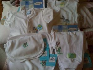 Shirts, sandos, pajamas, shorts and bibs